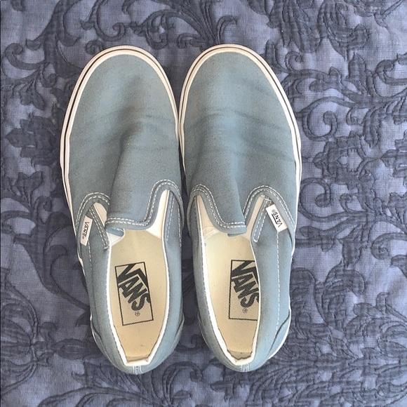 Greyson Blue Slip on Vans